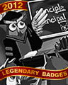 Learn Owl About It Badge - Mahjong Garden HD