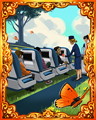 Cabin Space Hard Badge - First Class Solitaire HD