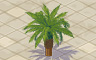 Short Palm Tree Badge - Solitaire Gardens