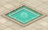 Opulent Fountain And Pool Badge - Solitaire Gardens