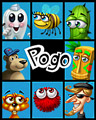 Pogo Here's A Story Badge