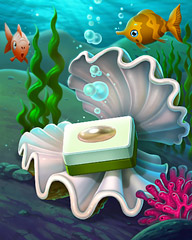 Perfect Pearl Badge - Quinn's Aquarium