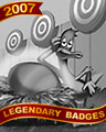Eggstremely Bored Badge - Rainy Day Spider Solitaire