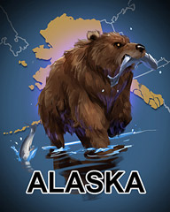 Alaska Badge - Cookie Connect
