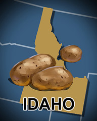 Idaho Badge - Jewel Academy