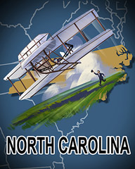 North Carolina Badge - World Class Solitaire HD