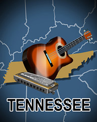 Tennessee Badge - Aces Up! HD