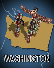 Washington Badge - StoryQuest