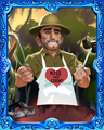 Chef Carter Easy Badge - Tri-Peaks Solitaire HD
