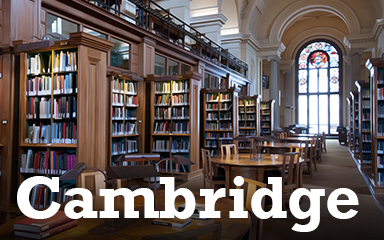 Cambridge Postcard Badge - Postcards From Britain