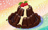 Chocolate Volcano Badge - Solitaire Gardens