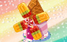 Ice Pop Windmill Badge - Solitaire Gardens