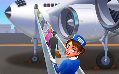 A Higher Plane Badge - Jet Set Solitaire