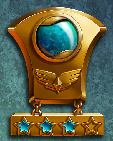 Pilot Training III Badge - Jet Set Solitaire