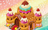 Candy Castle Badge - Solitaire Gardens