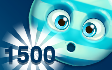 Blue Cookie 1500 Badge - Cookie Connect