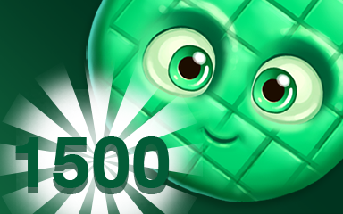 Green Cookie 1500 Badge - Cookie Connect