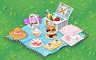 Decadent Picnic Spread Badge - Solitaire Gardens
