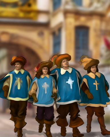 The Three Musketeers Episode 4 Badge - StoryQuest