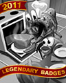Crabby Cakes Badge - Amazing Adventures