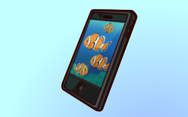 Phone A Friend Badge - Quinn's Aquarium
