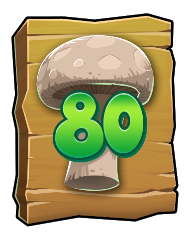 The Mushroom Badge - Word Whomp HD