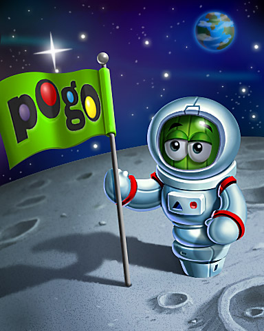 Out Of This World Score Badge - Poppit!™ HD