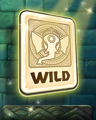 Wild Card Badge - Tri-Peaks Solitaire HD