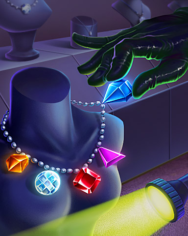Like A Cat Badge - Bejeweled 3