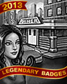 Diner Break Badge - Undiscovered World