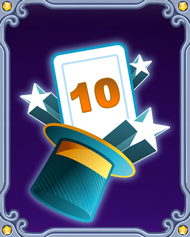 Magic Marathon Lap 10 Badge - Mahjong Escape