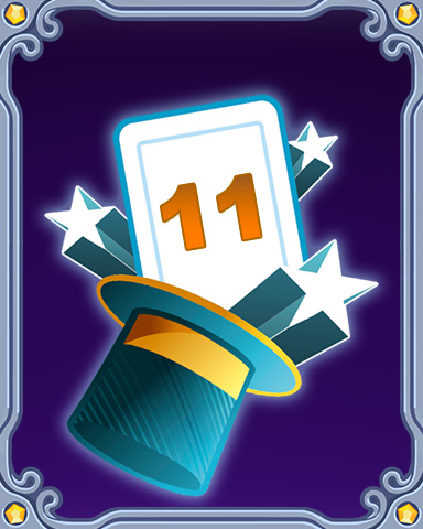 Magic Marathon Lap 11 Badge - Mahjong Escape