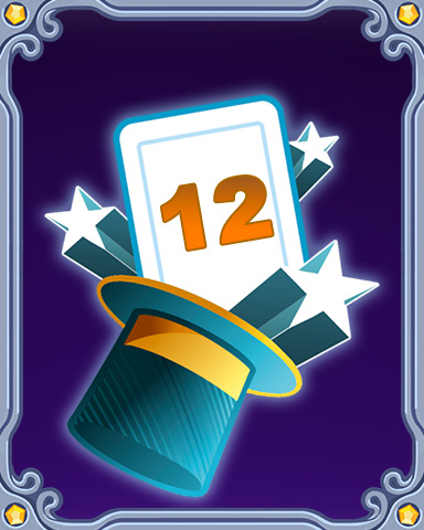 Magic Marathon Lap 12 Badge - Mahjong Escape