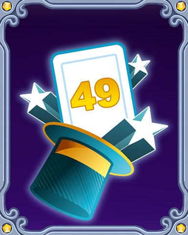 Magic Marathon Lap 49 Badge - Quinn's Aquarium