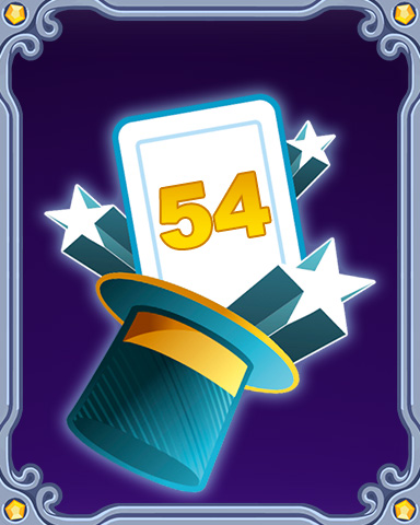 Magic Marathon Lap 54 Badge - StoryQuest