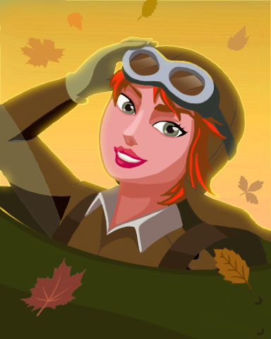 Autumn Ace Badge - Aces Up! HD