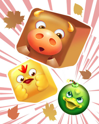 Barnyard Blast Badge - Stack'em HD