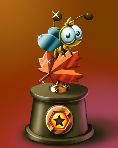 Pogo Fall Buzz Victory Badge