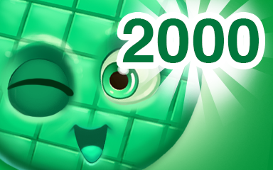 Green Cookie 2000 Badge - Cookie Connect