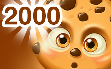 Chocolate Cookie 2000 Badge - Cookie Connect