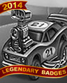 Engine Upgrades Badge - Rainy Day Spider Solitaire