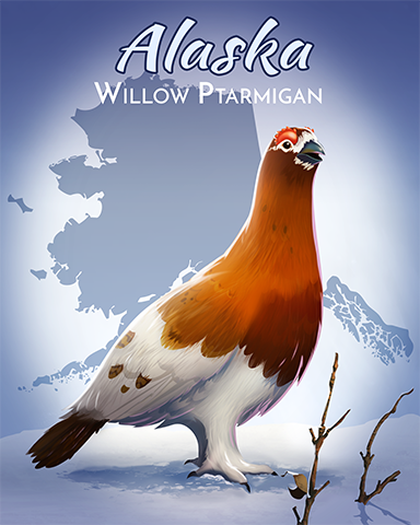 Willow Ptarmigan Badge - Cookie Connect