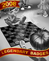 Checker Champs Badge - Mahjong Escape