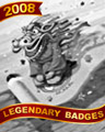 Dragon On The Go Badge - BOGGLE Bash