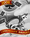 Falling Spades Badge - Hog Heaven Slots