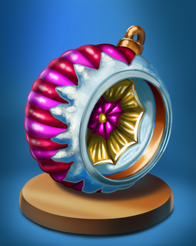 Bauble Hole Badge - World Class Solitaire HD