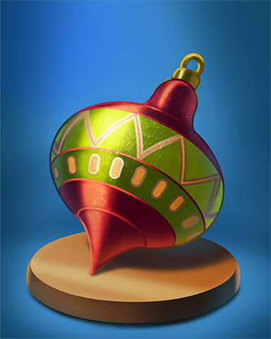 Chubby Point Bauble Badge - Phlinx II
