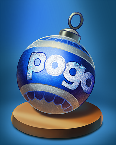 Pogo Bauble Badge - A Way With Words