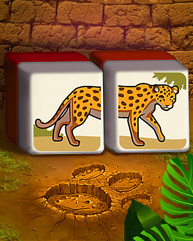 Making Tracks Badge - Mahjong Safari HD