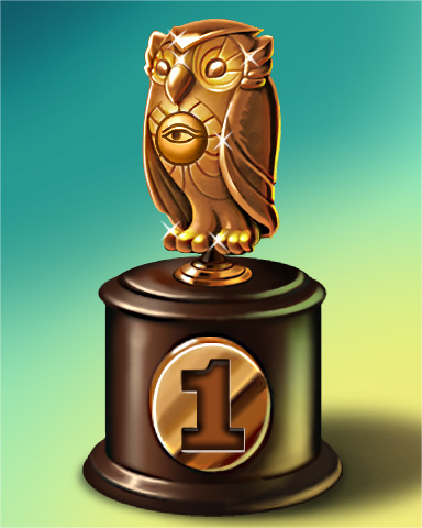 Owl Run Lap 1 Badge - Cookie Connect